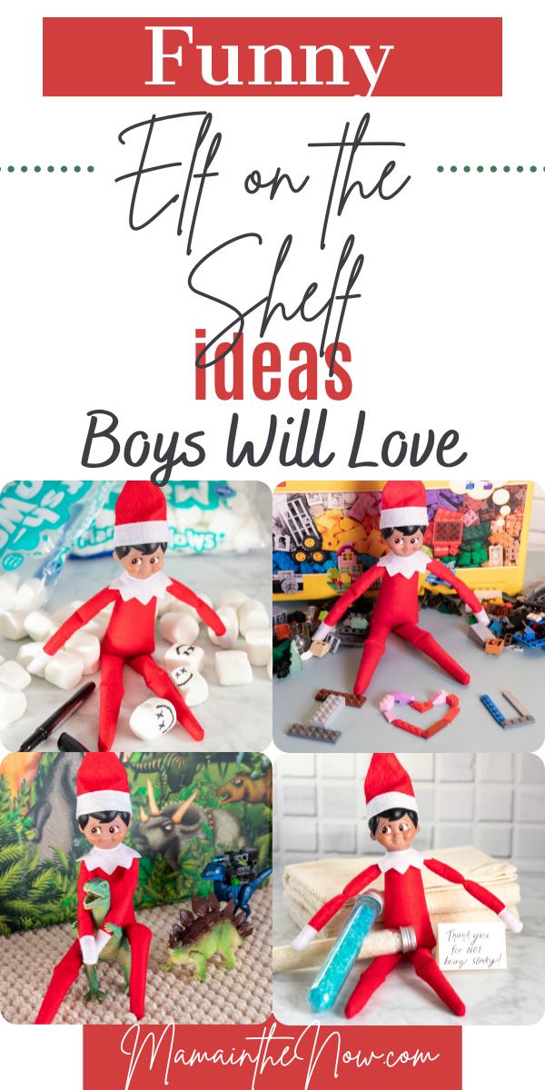 elf on the shelf ideas boys will love