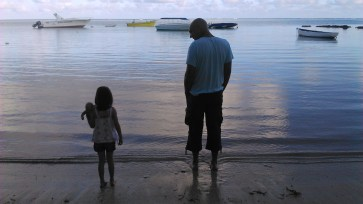 8nov (5)-Lever du jour sur la plage de Bain Boeuf