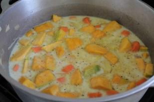 velouté potiron carottes