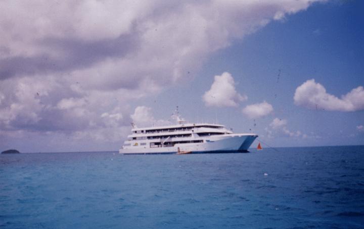 Sainte Lucie, Saint Vincent et les Grenadines à bord du Rivage Martinique