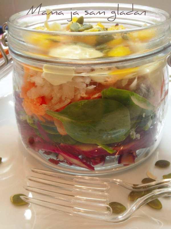 Salata od mladog špinata2