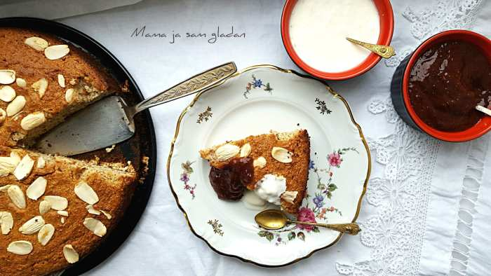 torta od badema i limuna