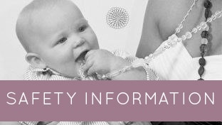SAFETY INFO pruple - Are teething necklaces safe?