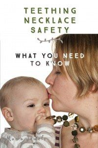 Teething necklace safety
