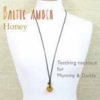 Baltic Amber teething necklaces: for Mummy and Daddy!