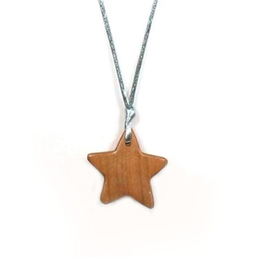Applewood star teething necklace 004 - Applewood Star Wooden Teething necklace