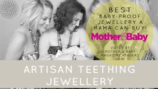 ARTISAN TEETHING JEWELLERY - ARTISAN TEETHING JEWELLERY | STANDS OUT FROM THE CROWD!