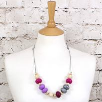 GILLY SS 2018 PURPLES 1 - GILLY silicone teething necklace Purples
