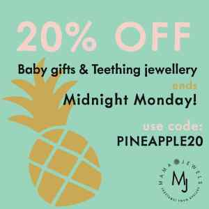 Mama Jewels Discount code July August 2018