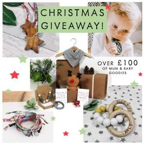 Mama jewels teething necklace and hamper christmas giveaway