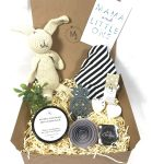 Unisex Mum And Baby Gift Hamper Bunny Monochrome