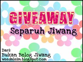 Giveaway Separuh Jiwang