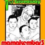 Mama Kembar 3 Buat Giveaway, Yay! (Sticky Post)