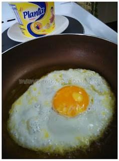 Telur goreng Planta