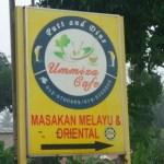 Citarasa Masakan Kampung di Ummiza Cafe