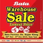 Kasut Sekolah Murah di BATA Warehouse Sales!