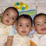 Macam Mana Bezakan Si Kembar Tiga?