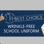 Baju Sekolah Tidak Berkedut (Wrinkle-Free) Yang Best!