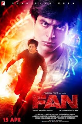 Review filem FAN 2016 Shah Rukh Khan