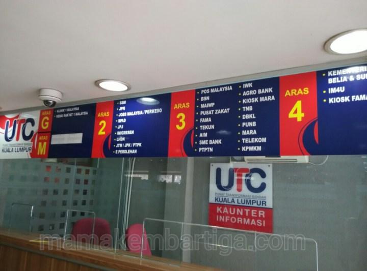 renew lesen memandu di UTC