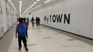 Senangnya Naik MRT ke MyTown Cheras, Panjang Lah Langkah Lepas Ni…