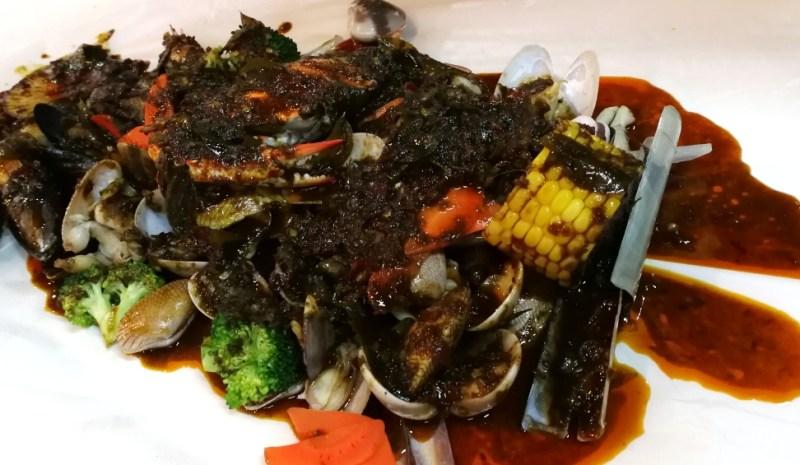 seafood lambak di KL