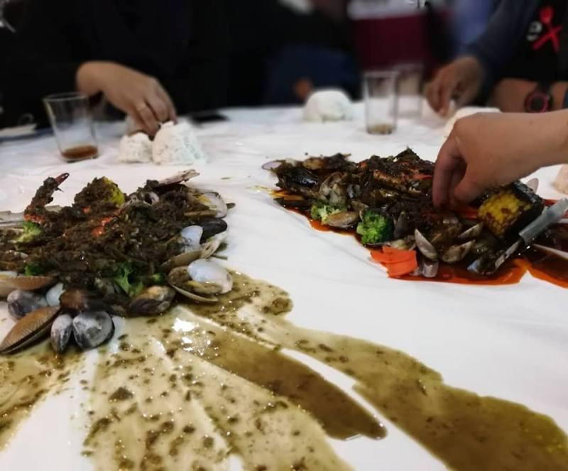 seafood lambak sedap di KL