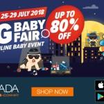 Lazada Big Baby Fair: Diskaun Sehingga 80% Ni Wehh!