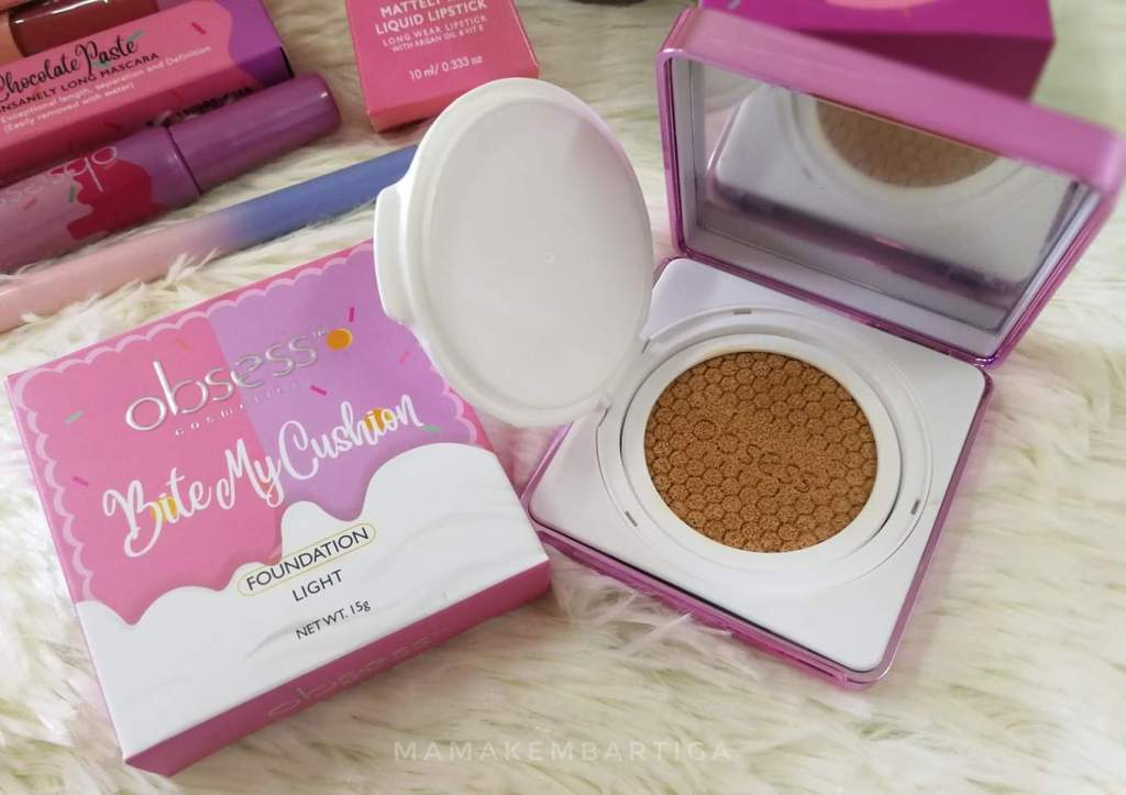 Obsess Cosmetics Treatment Cushion Foundation