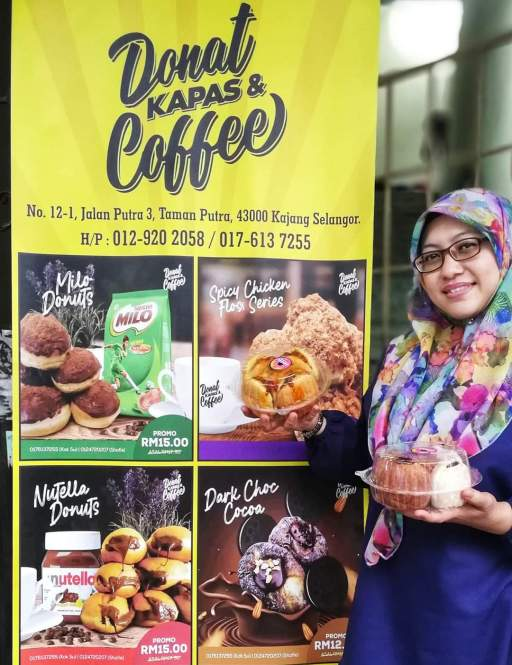 Donat Kapas & Coffee