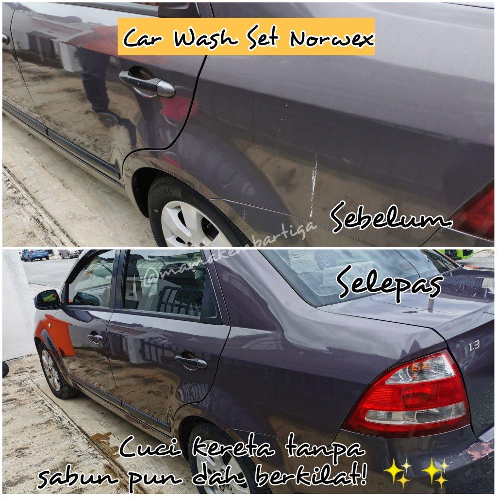 Norwex Car Wash Set