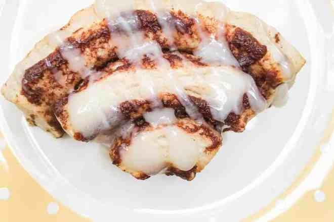 Healthier Cinnamon Bun Rainbows Recipe