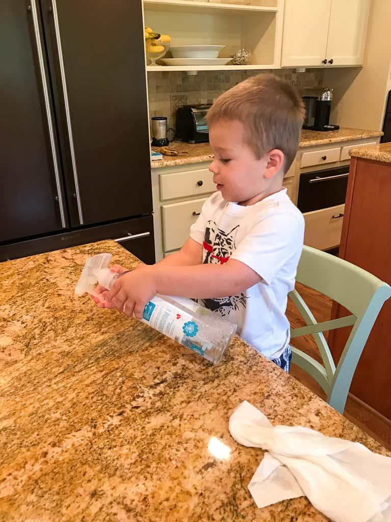 Toddler Help in Kitchen (1 of 13)