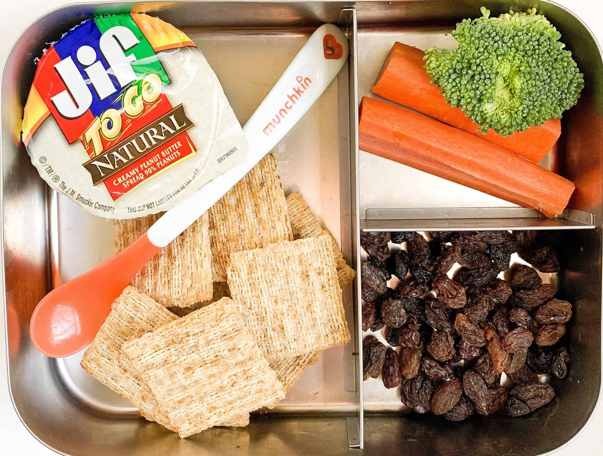 pack lunch for a picky eater
