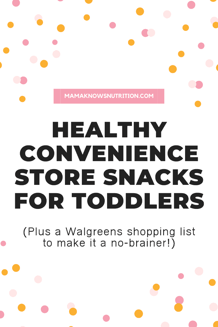 Convenience Store Snacks for Toddlers