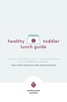 healthy lunch guide