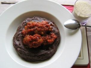 Frejon with fish sauce