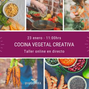 Taller de Cocina Vegetal Creativa