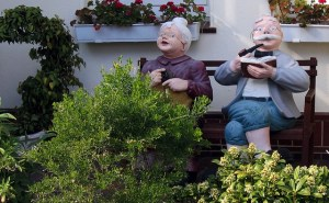 Reacties opa en oma