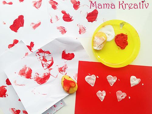 Basteln mit Kindern zum Valentinstag : 6 schöne Ideen zum Malen und Basteln