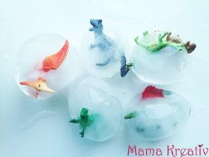 Dino-Eier aus Eis