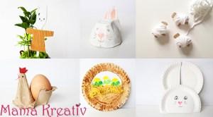 Osterbasteln mit Kleinkindern +Video
