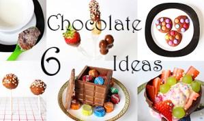 6 Tricks mit Schokolade + Video