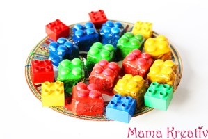 Lego-Kuchen mit Brownies-Rezept und Video