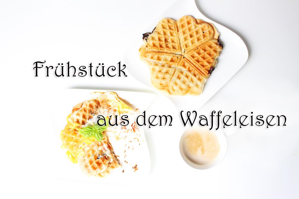 frühstück aus dem waffeleisen süß und herzhaft blätterteig waffeln rezept