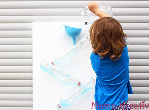 Wasserspiel wasserfall im garten spiele mit wasser für kinder