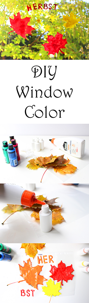 diy-window-color-selber-machen-herbst-pinterest