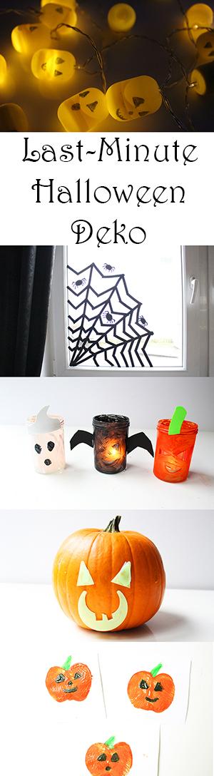 Last Minute Halloween-Deko — Mama Kreativ