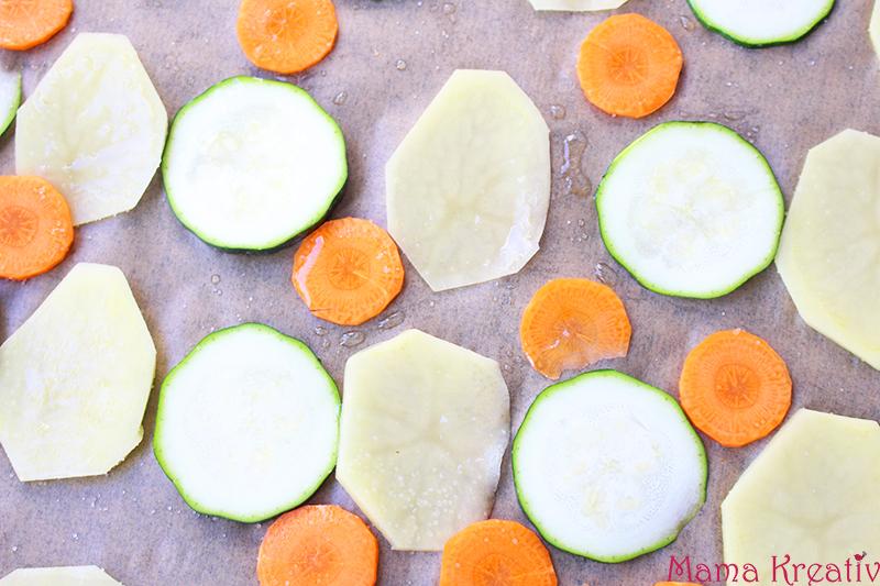 Gemüse chips für kinder selber machen rezept