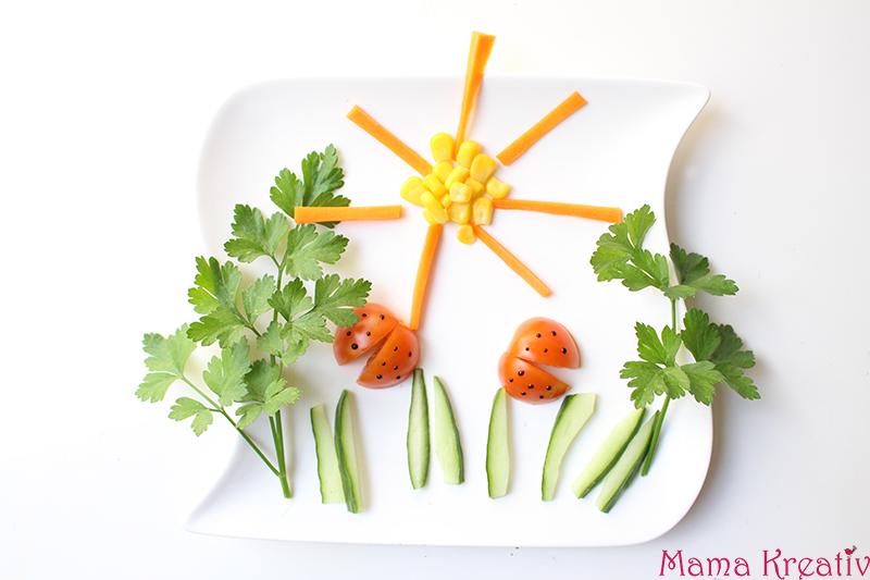Gemüse Snacks bilder für kinder selber machen rezept